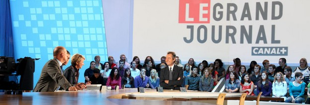 Plateau du Grand Journal de Canal+